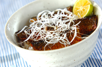 甘辛サンマ丼