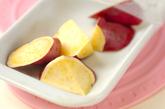 バター風味のサツマイモの作り方1