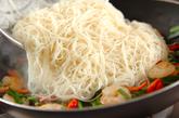 エスニック風素麺チャンプルーの作り方2