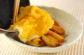 ジャガイモと半熟卵のアリオリソースの作り方3