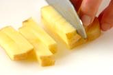 ジャガイモと半熟卵のアリオリソースの作り方1
