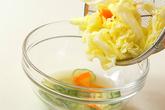 春キャベツの甘酢和えの作り方3