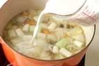 牡蠣の和風みそシチューの作り方5