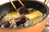 イカと揚げナスの煮物の作り方1