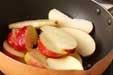 オープンアップルパイの下準備4
