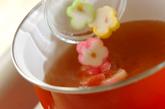 麩とワカメのかきたま汁の作り方1