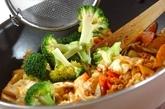 キャベツとひき肉の炒め物の作り方2