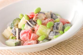 夏野菜サラダ