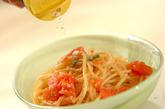 冷製トマトパスタの作り方4
