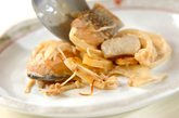 鮭のユズコショウ風味炒めの作り方3