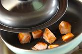 鮭のユズコショウ風味炒めの作り方1