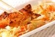 鶏ささ身エスニック焼きの作り方3