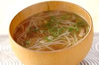 たっぷりモヤシスープ