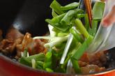 豚キムチの卵炒めの作り方2