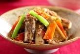 タタキゴボウの炒め煮
