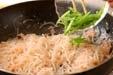 糸コンのまさご炒めの作り方2