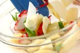 ジャガイモとタコのバジルサラダの作り方2