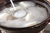 鶏粥の作り方1