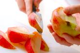 桃のムースの下準備1