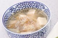 豆腐とザーサイのスープ
