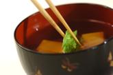 卵豆腐入りお吸い物の作り方2