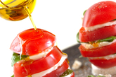 トマトのサラダの作り方2