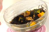 カボチャとヒジキのレンジ煮の作り方2