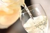 ピーチ入りワインの作り方2