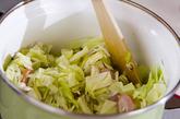 キャベツのコーンスープの作り方2