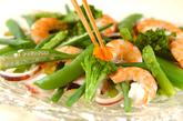 野菜とシーフードのサラダカレー風味の作り方8