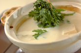 あったか豆乳湯豆腐の作り方1