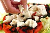 トマとうふサラダの作り方1