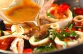 イカのピリ辛ワタ炒めの作り方2