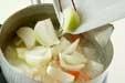 塩鮭の粕煮の作り方1