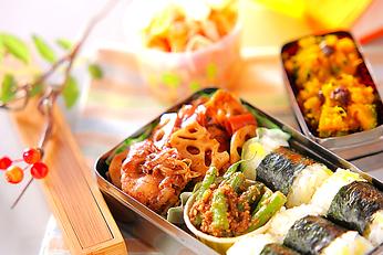 豚肉レンコンの甜麺醤炒め