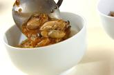 カキとネギのショウガ焼き丼の作り方4