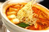 みそキムチ鍋の作り方3