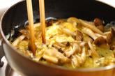 キノコスクランブルエッグの作り方3