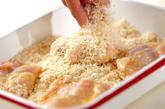 鶏のクラッカー揚げの作り方1