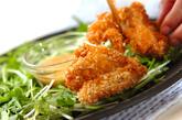 鶏のクラッカー揚げの作り方3