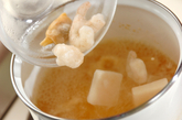 シーフードミルクスープごはんの作り方2