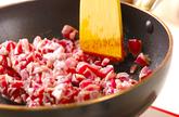 鶏照焼きハンバーグの下準備1