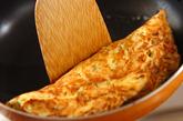 納豆卵焼き夕食の作り方2