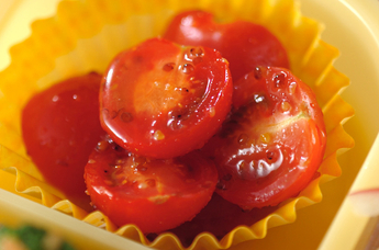 プチトマトのハニーマスタードサラダ