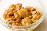 鶏軟骨タンドーリ風味揚の作り方1