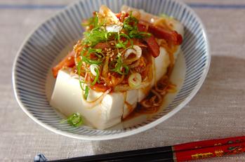 チャーシュー豆腐