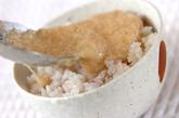 雑穀米のトロロご飯の作り方2