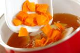 くずし豆腐のさっぱり汁の作り方1