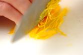 白菜と塩昆布のレンジ蒸しの下準備2