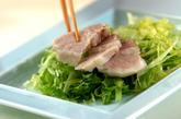 ガーリックダレ添えゆで豚の作り方3